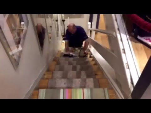 How To Install A Runner On A Staircase - DIY