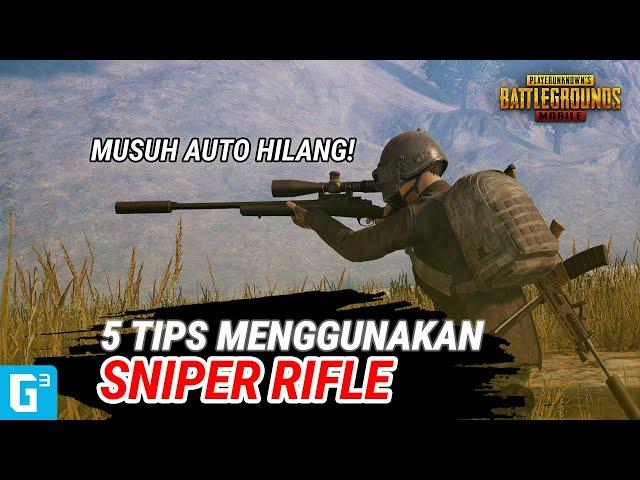 5 TIPS MENGGUNAKAN SNIPER RIFLE! - TIPS DAN TRIK   PUBG Mobile