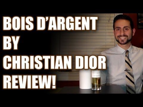 bois d 39 argent by christian dior fragrance cologne review youtube. Black Bedroom Furniture Sets. Home Design Ideas