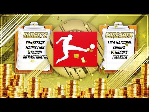 Alle BUDGETS 💰 & ERWARTUNGEN 📋 der BUNDESLIGA!! 🔥 - FIFA 18 KARRIEREMODUS (DEUTSCH)
