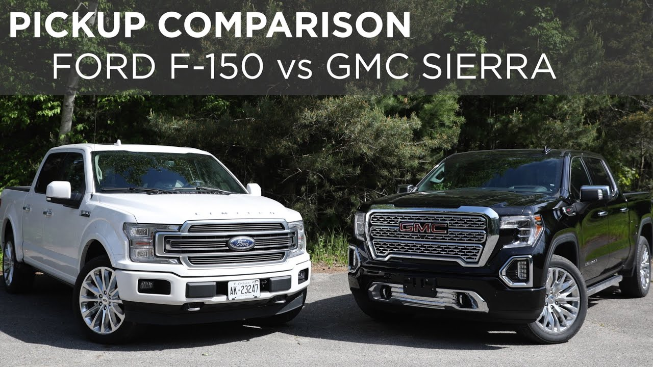 2019 Ford F 150 Limited Vs 2019 Gmc Sierra Denali Pickup