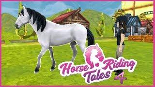 Horse Riding Tales #4 || Białe i czarne? Siwe i Kare!