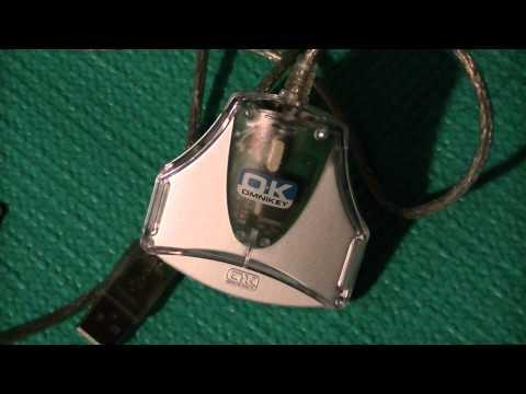 OK Omnikey SmartCard Reader Review (USB):