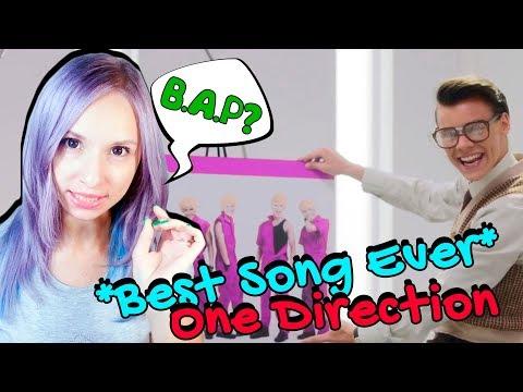 ONE DIRECTION - BEST SONG EVER MV REACTION/РЕАКЦИЯ | ARI RANG +