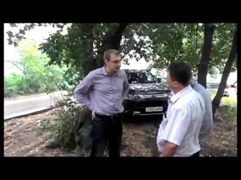 Жители Рязани пресекли кражу баннера СПРАВЕДЛИВОЙ РОССИИ