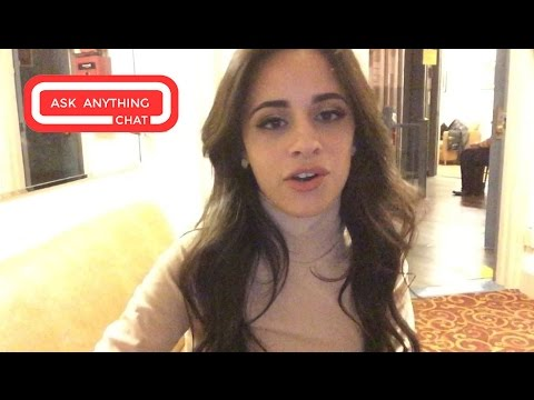 Camila Cabello On Fifth Harmony Performing With Taylor Swift.  Ask Anything Chat