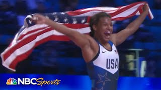 American Jacarra Winchester wins gold in wrestling world championship redemption | NBC Sports