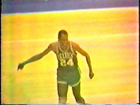 Sam Jones Second Half Highlights vs. Royals (Game 4, 1966)
