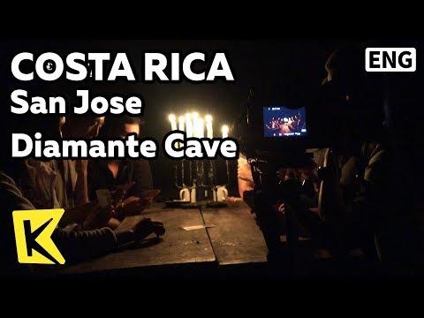 【K】Costa Rica Travel-San Jose[코스타리카 여행-산호세]디아만테 동굴/Diamante Cave/Diamante verde/Electricity