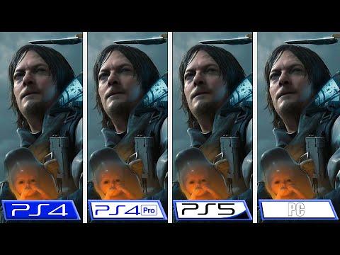 Death Stranding Director's Cut | PS5 - PC - PS4 - PS4 Pro | Graphics Comparison & FPS