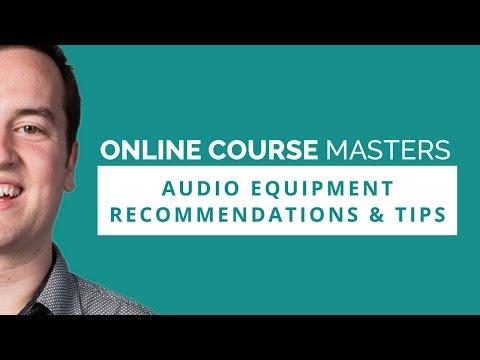 Audio Equipment For Online Course Creators | OCM 65