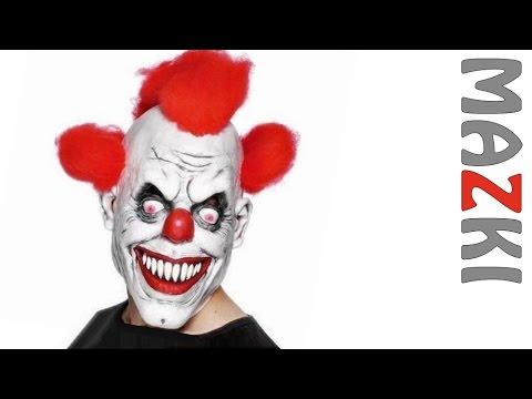 Маска страшного клоуна