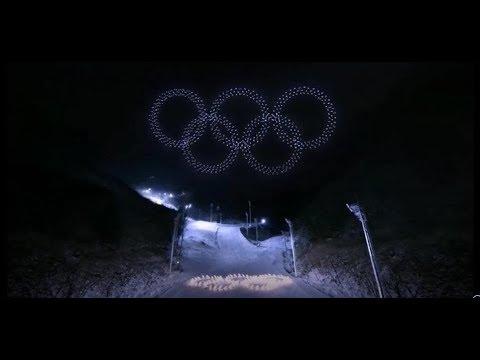 Winter Olympics 2018 Opening Ceremony 1200 Drones!