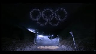 Winter Olympics 2018 Opening Ceremony 1200 Drones!