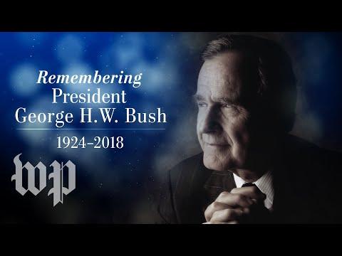 George H.W. Bush's funeral service in D.C.