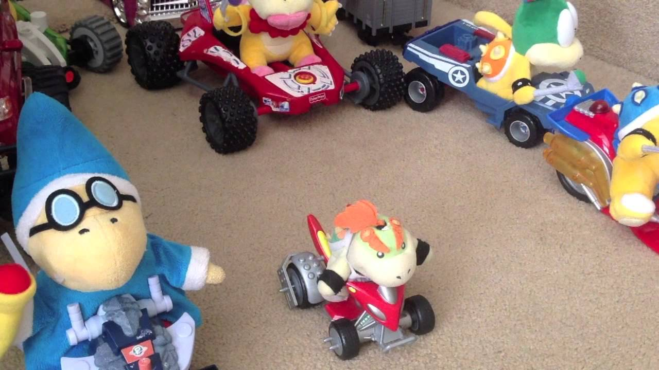 Mario Kart Super Plush Mario Youtube