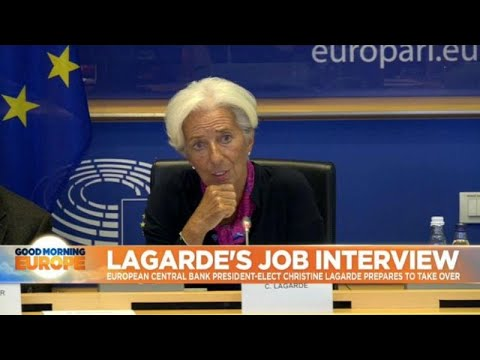 Lagarde grilled by politicians over her new European Central Bank nomination