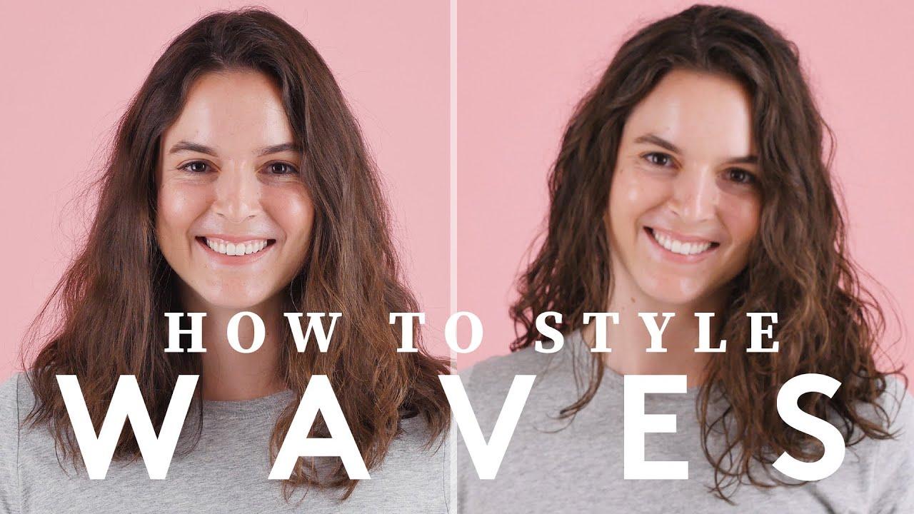 Birchbox 101 How To Style Wavy Hair Youtube