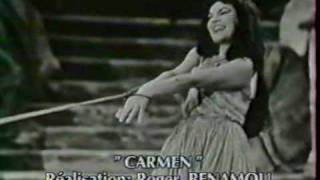 JANE RHODES interview  -  Carmen 1959 (Prés des remparts)
