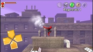 Spider Man Web of Shadows PPSSPP Gameplay Full HD / 60FPS