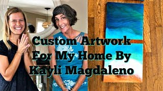 We recently commissioned a local artist, Kayli Magdaleno, to create...