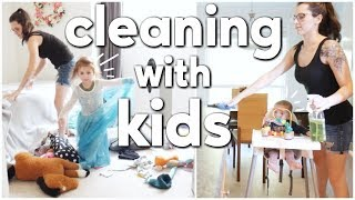 HOW I KEEP MY HOUSE TIDY WITH TWO KIDS || CLEANING MOTIVATION