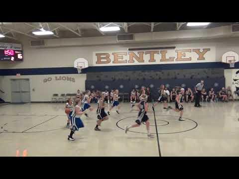 Bentley 6th Grade Girls vs. Spencer Crossing, 2nd Q, 9/27/18
