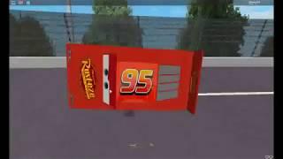 :Roblox Cars 3: Lightning McQueens Crash
