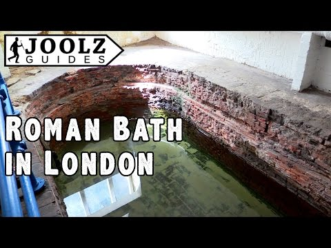Roman Bath - Top 50 things to do in London - Joolz Guides