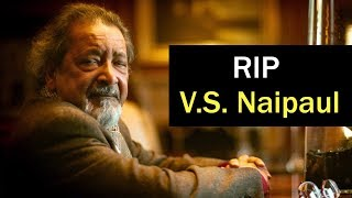 Nobel Prize-winning author V.S. Naipaul  dead