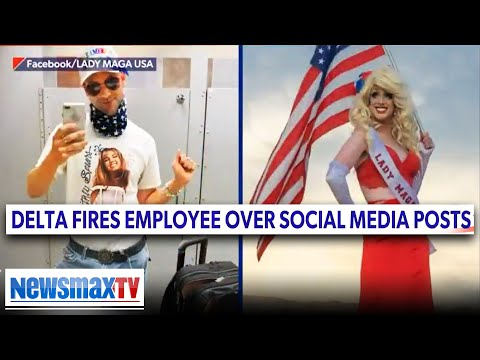 'Lady MAGA' was fired, targeted for supporting Trump