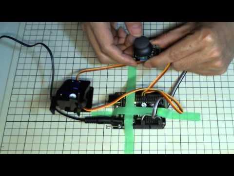 [Arduino] 二軸サーボとアナログ JoyStick