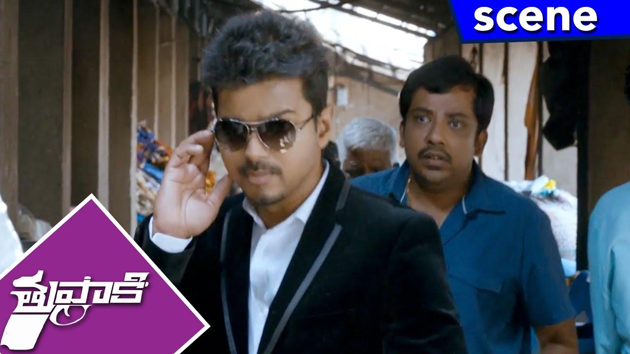 Vijay With His Military Batch Breaks Vidyut S Plan Thuppakki Movie Scenes Youtube