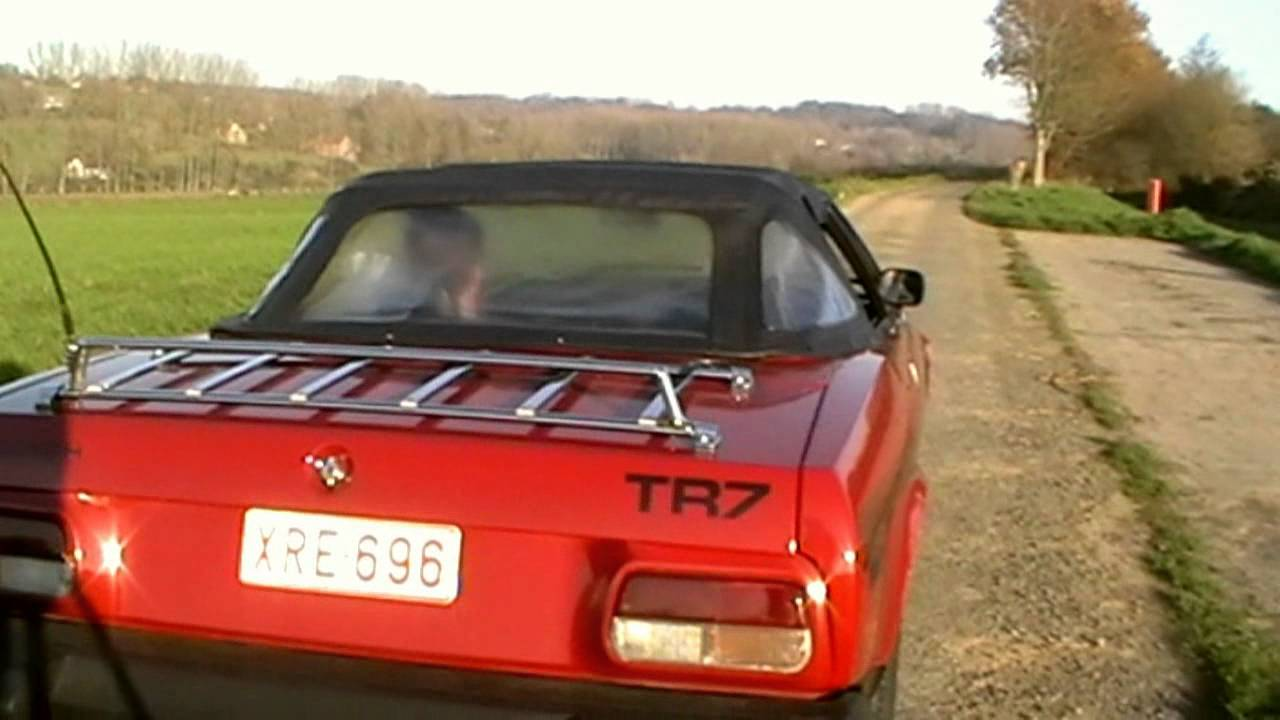 Triumph Tr7 Convertible Youtube