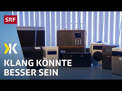 Digitalradios im Test: Der Klang lässt zu wünschen übrig | 2018 | SRF Kassensturz