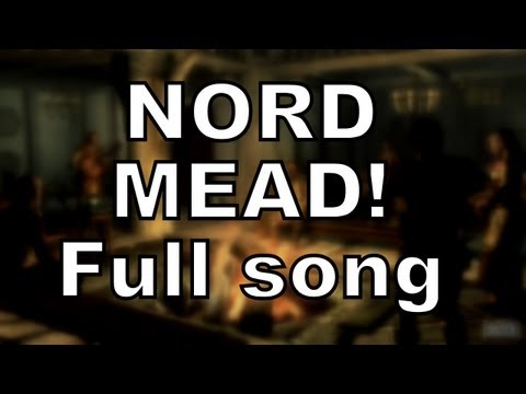 NORD MEAD! Skyrim song by Miracle Of Sound