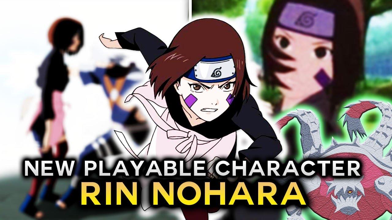 NARUTO Ultimate Ninja STORM 4 RIN NOHARA Gameplay PLAYABLE Character = 3  TAILS JINCHURIKI- - YouTube