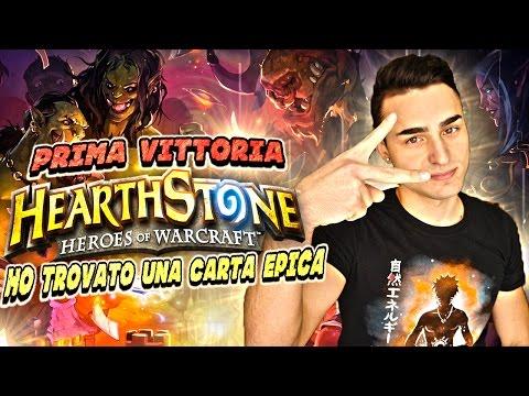 CARTA EPICA e PRIMA VITTORIA! Hearthstone ITA Gameplay