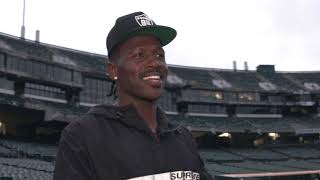 Antonio Brown visits the Oakland Coliseum for the first time | Raiders.com