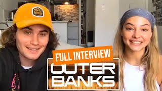 Outer Banks Stars Chase Stokes & Madelyn Cline Full Interview
