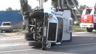 Масштабная авария в Крыму: грузовик влетел в экскурсионный автобус(На Керченском шоссе в Крыму произошла авария с участием автомобилей