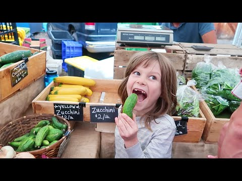 Farmer's Market Fun!