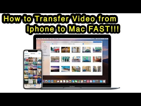 How to transfer videos from iphone to mac fast! (using USB Cable)