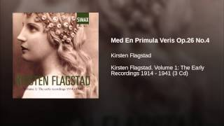 Med En Primula Veris Op.26 No.4