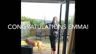 Congratulations Emma