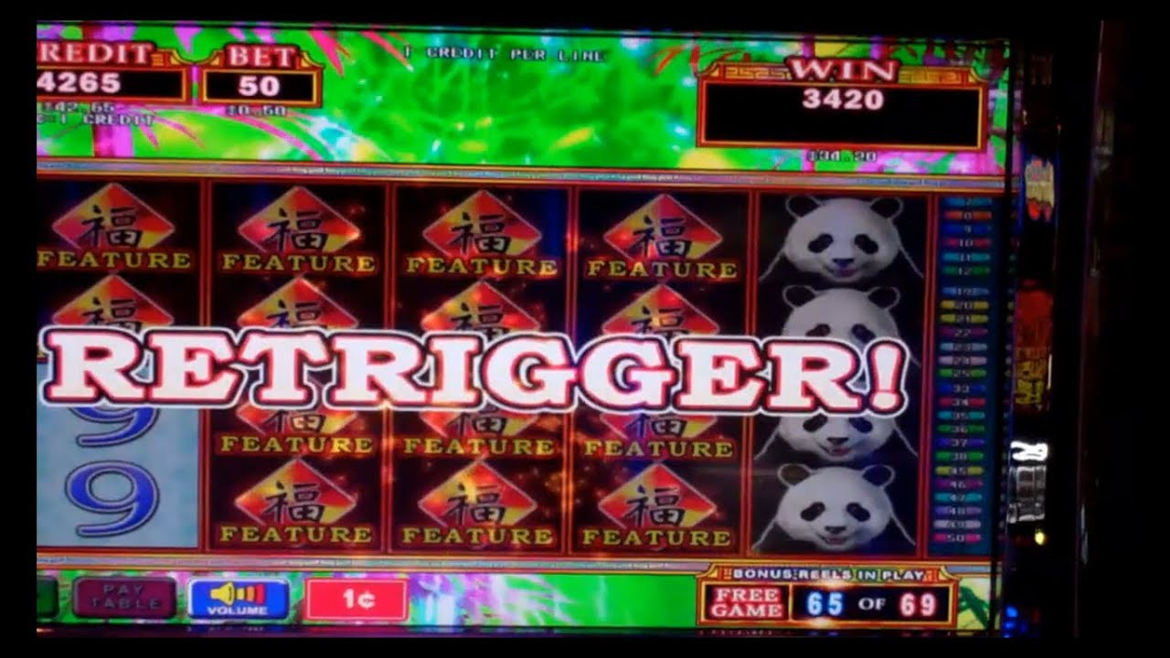 Panda Slot Machine Games