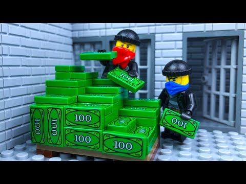 Lego City Bank Robbery - A New Crime of Band's