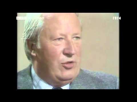 General Election October 1974: Dimbleby v Heath over