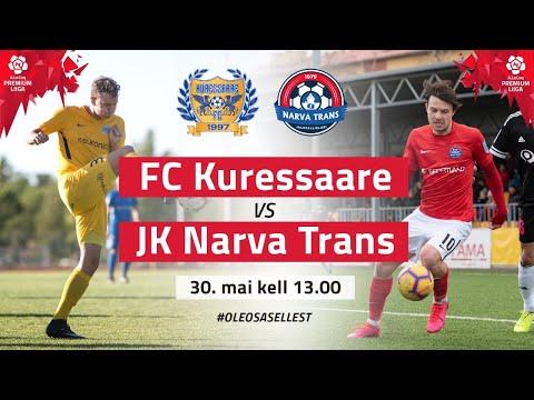 Kuressaare FC Trans Narva Goals And Highlights