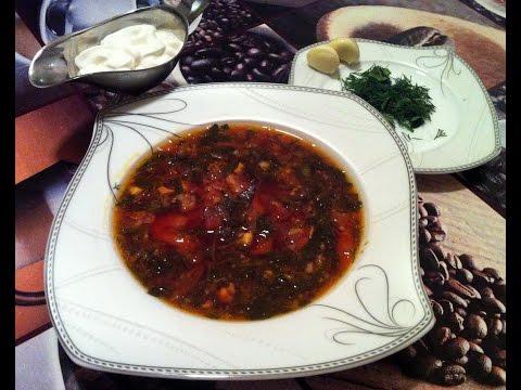 зеленый борщ с щавелем рецепт на курином бульоне